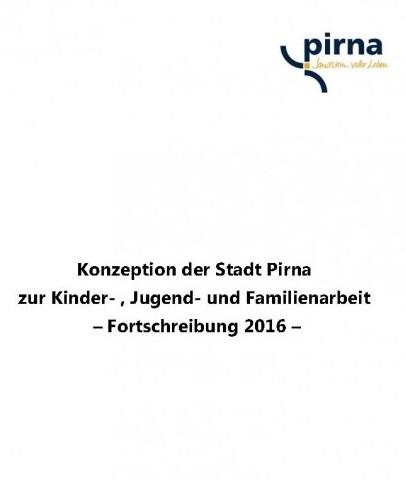 Jugendkonzeption der Stadt Pirna - Fortschreibung 2016 -
