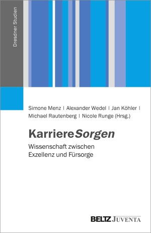 Cover KarrierSorgen Beltz Juventa 2017